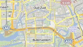 Map of Hotel citizenM Amsterdam