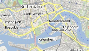 Mapa do Hotel & Restaurant Quartier Du Port Rotterdam