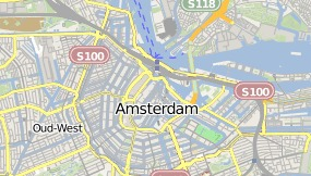 Map of Hotel The Crown Amsterdam