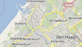 Map of The Hague Marriott